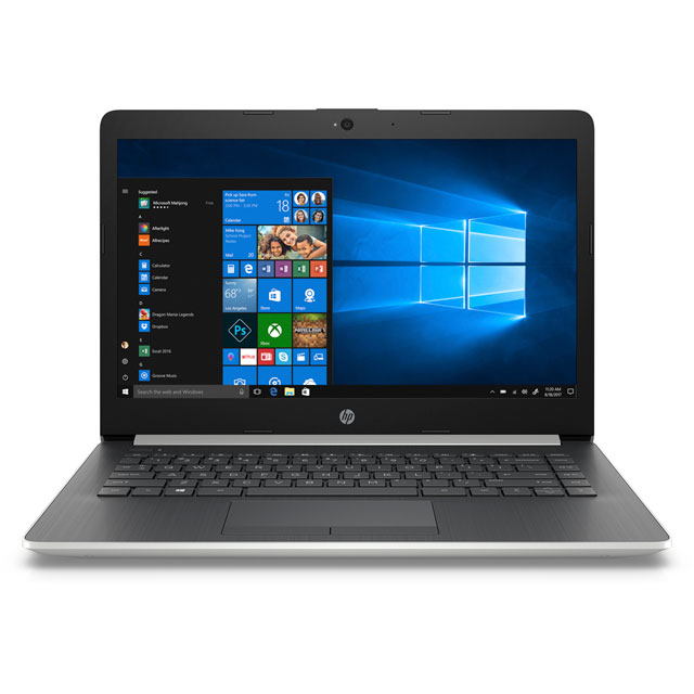 "HP 14-ck0997na 14"" Laptop - Silver"
