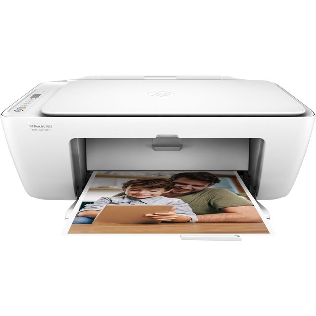 HP DeskJet 2622 Inkjet Printer - White - 4UJ28B#BEV - 1