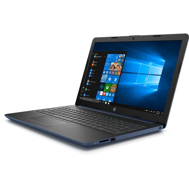 "HP 15-db0995na 15.6"" Laptop - Twilight Blue - 4XX57EA#ABU - 1"