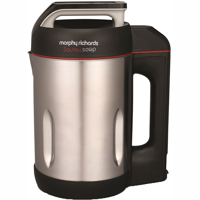 Morphy Richards Sauté and Soup 501014 Soup Maker in Stainless Steel