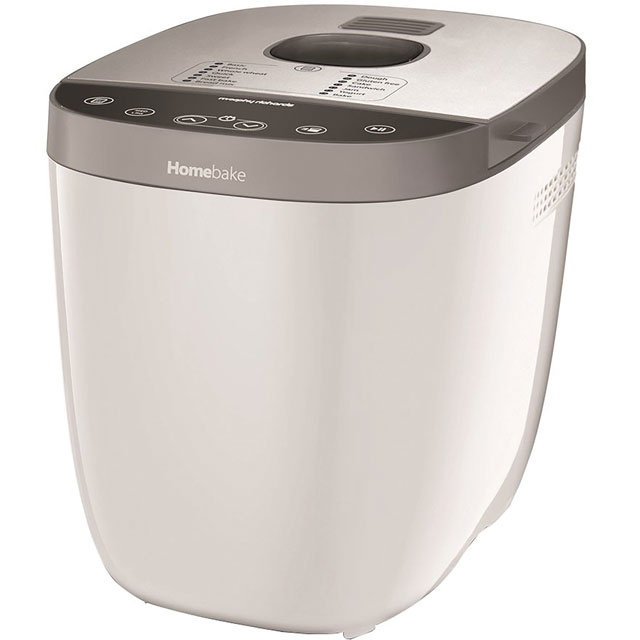 Morphy Richards Homebake 502001 Bread Maker with 14 programmes - White
