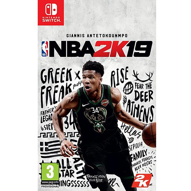 NBA 2K19 NSW for Nintendo Switch