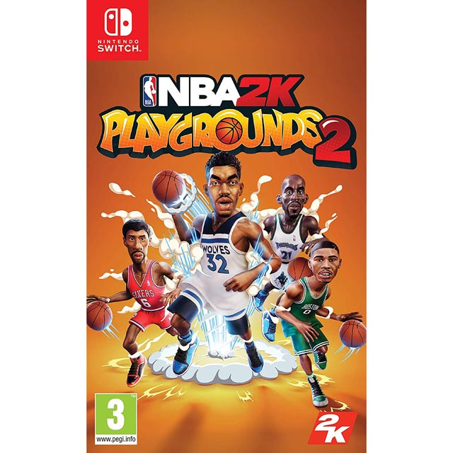 NBA Playgrounds 2 for Nintendo Switch - 5026555067423BC - 1