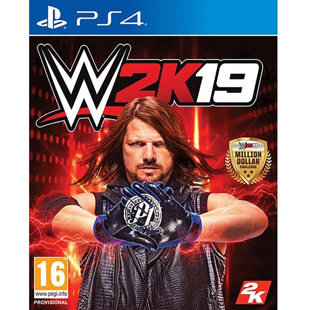 WWE 2K19 for PlayStation 4 - 5026555424677BC - 1