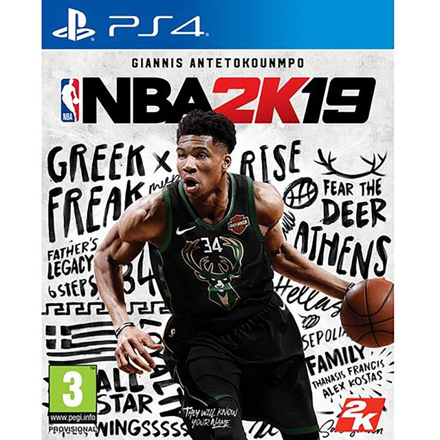 NBA 2K19 for Sony PlayStation