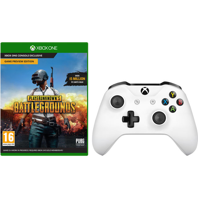 PlayerUnknown's Battlegrounds for Xbox One With Wireless Gaming Controller