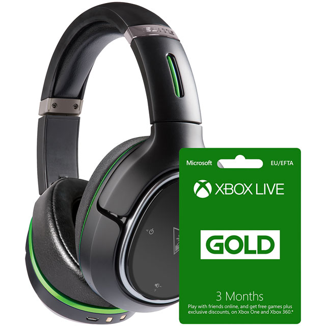 Turtle Beach 5027757117381 Console Headset in Black / Green