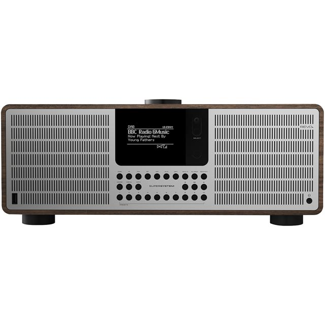 REVO SuperSystem DAB / DAB+ Digital Radio with FM Tuner - Walnut - 5060136411533 - 1