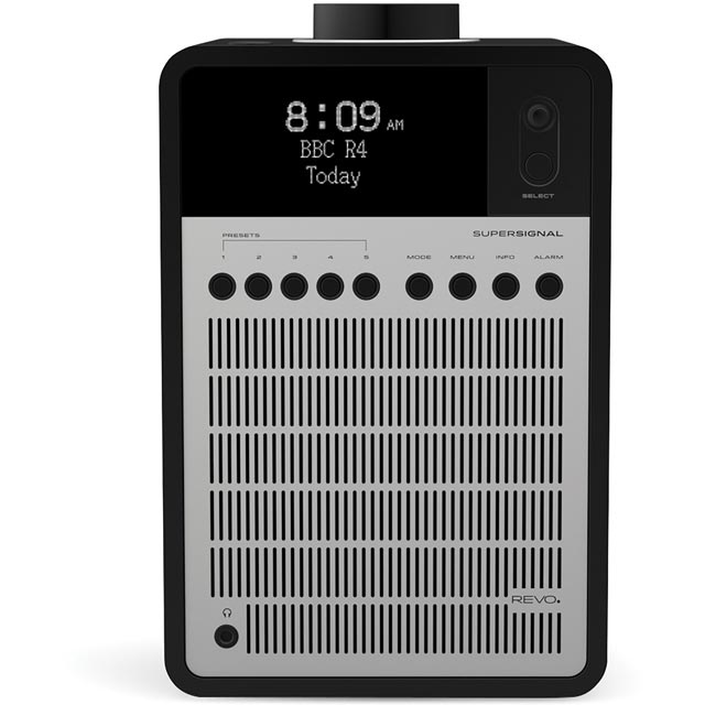 REVO SuperSignal 5060136411694 Digital Radio in Black / Silver