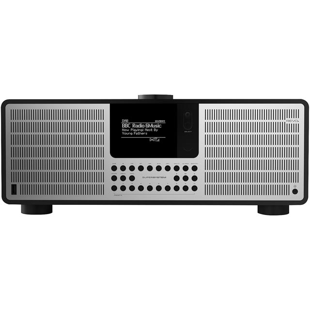 REVO SuperSystem DAB / DAB+ Digital Radio with FM Tuner - Black / Silver - 5060136411779 - 1