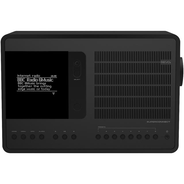 REVO SuperConnect 5060136411816 Digital Radio in Black