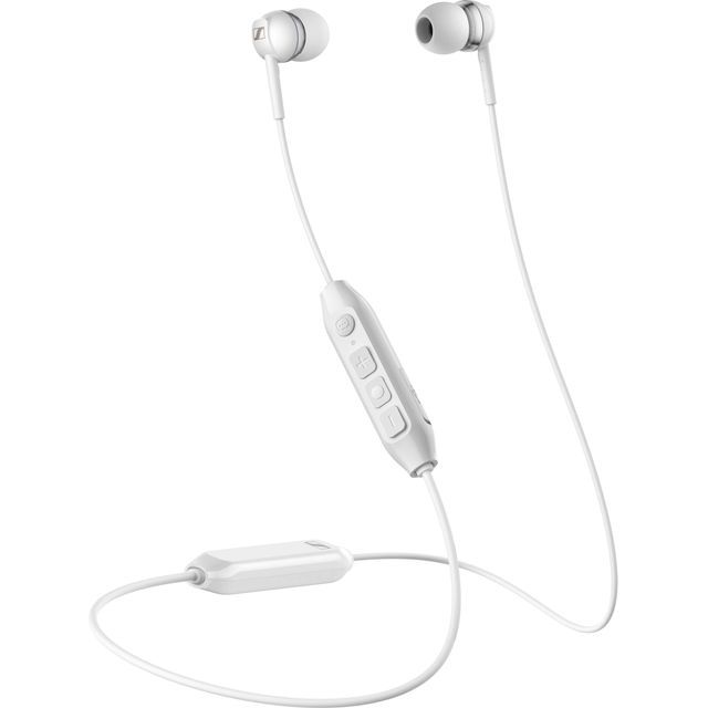 Sennheiser CX 350BT In-Ear Wireless Bluetooth Headphones - White