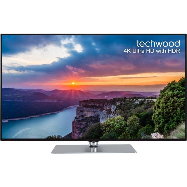 Techwood 50AO8USB Led Tv in Black