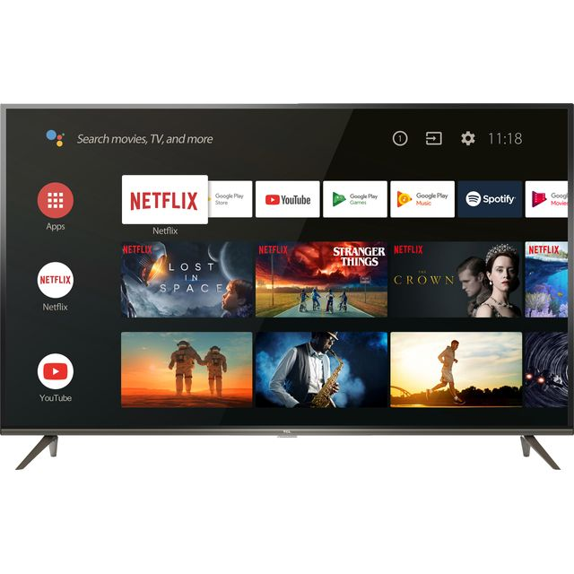 """TCL 50EP658 50"""" Smart 4K Ultra HD Android TV"""