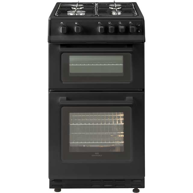 Newworld 50GTC Gas Cooker with Full Width Gas Grill - Black - A Rated