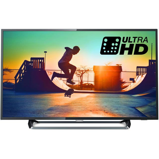 Philips 50PUS6262 50'' 4K Ultra HD Black / Silver LED TV with HDR