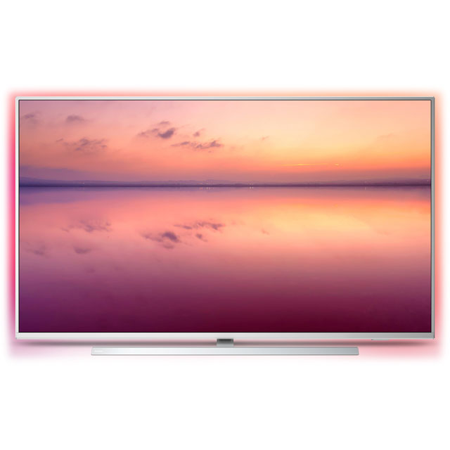 "Philips 50PUS6814 50"" Smart Ambilight 4K Ultra HD TV with HDR10+, Dolby Vision, Dolby Atmos and Alexa Built-In - 50PUS6814 - 1"