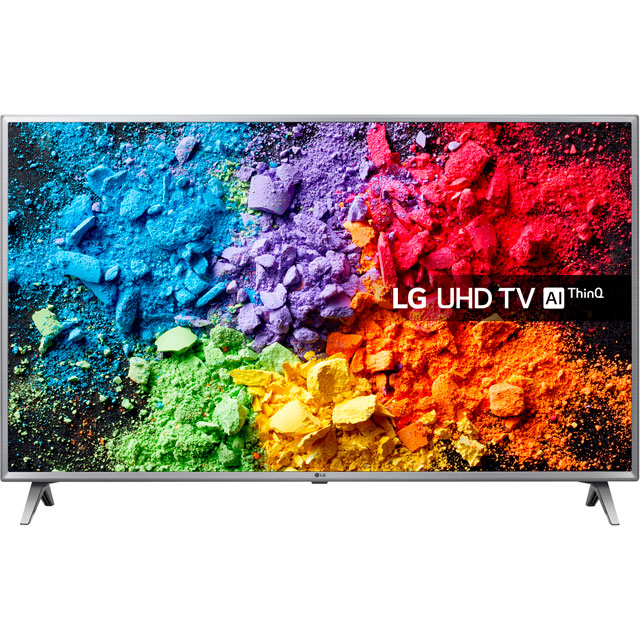 "LG 50UK6500PLA 50"" Smart 4K Ultra HD TV with HDR and Freeview Play - 50UK6500PLA - 1"