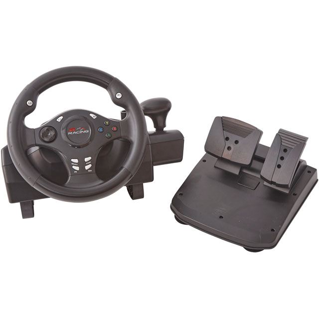 X Rocker XR Racing Wheel - Black - 5101801 - 1