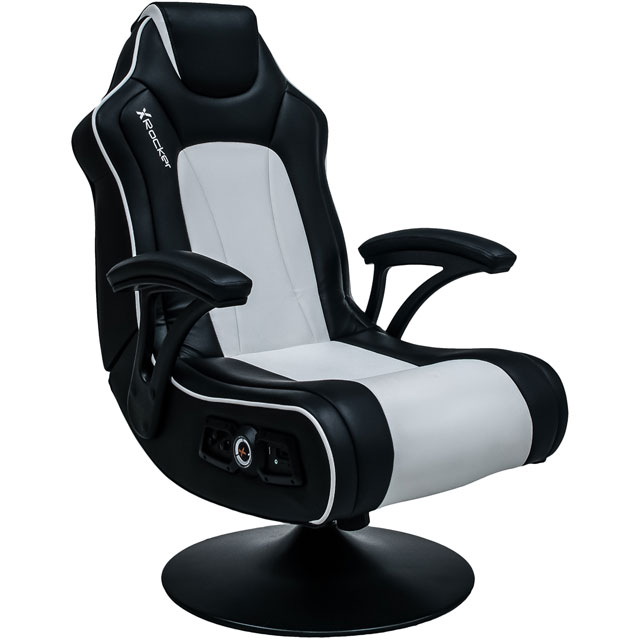 X Rocker Wireless Torque Gaming Chair - Black / White - 5105801 - 1