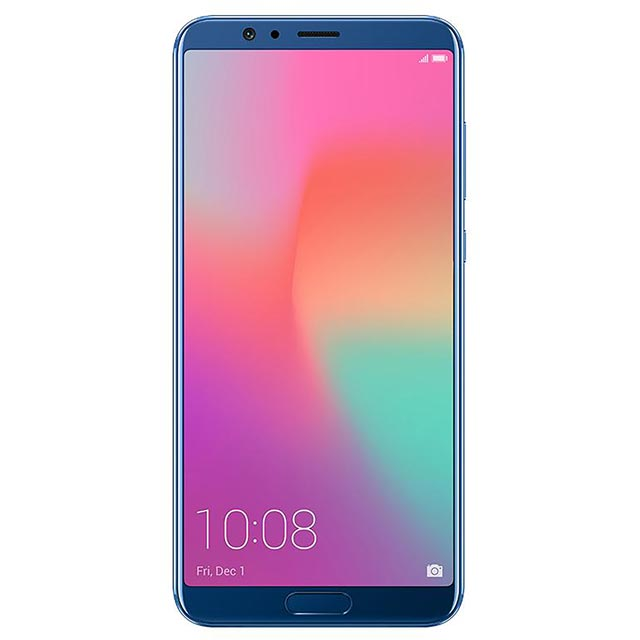Honor V10 128GB Smartphone in Blue