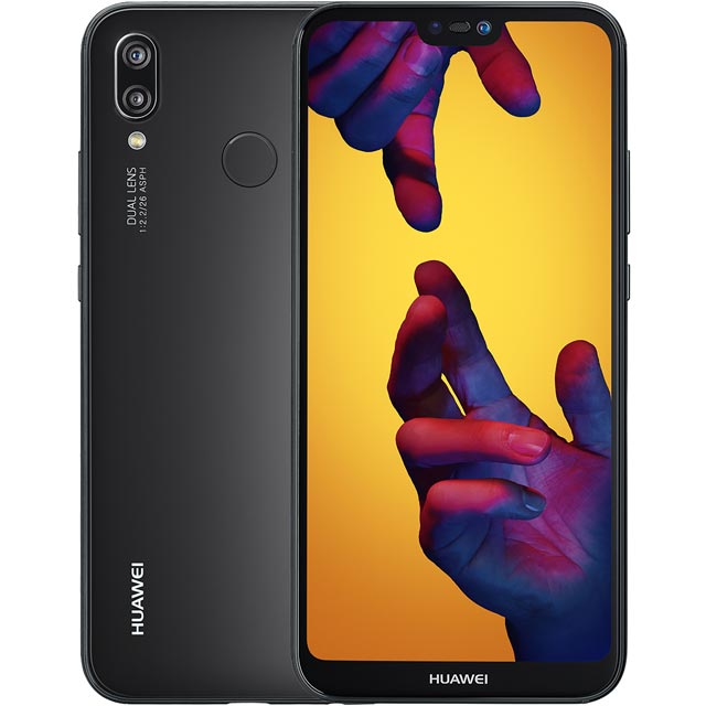 Huawei P20 Lite 64GB Smartphone in Black