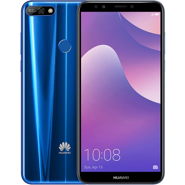 Huawei Y7 2018 16GB Smartphone in Blue