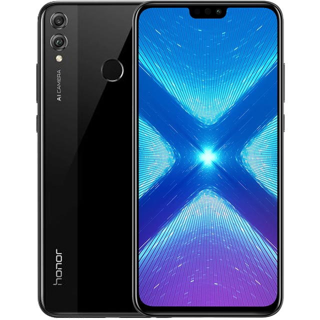 Honor 8X 64GB Smartphone in Black - 51092XXF - 1