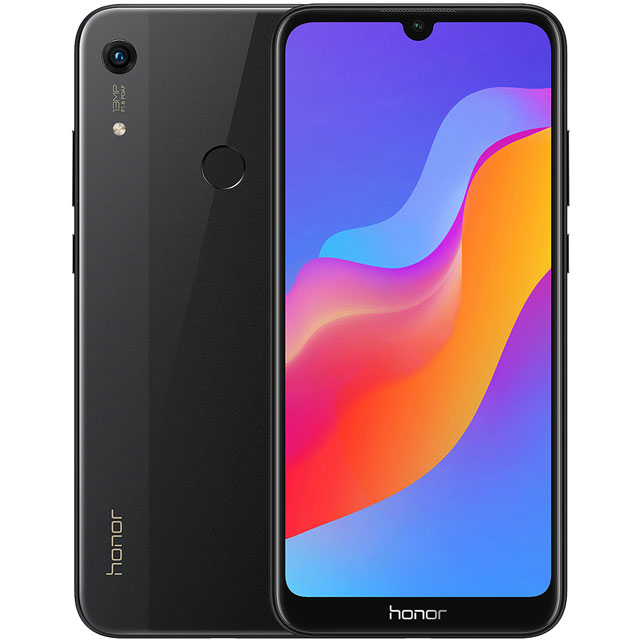 Honor 8A 32GB Smartphone in Black - 51093EHS - 1