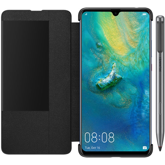 Mate 20X With M-Pen and Smart View Cover Smartphone Blue - 51093FLV-BUN - 1