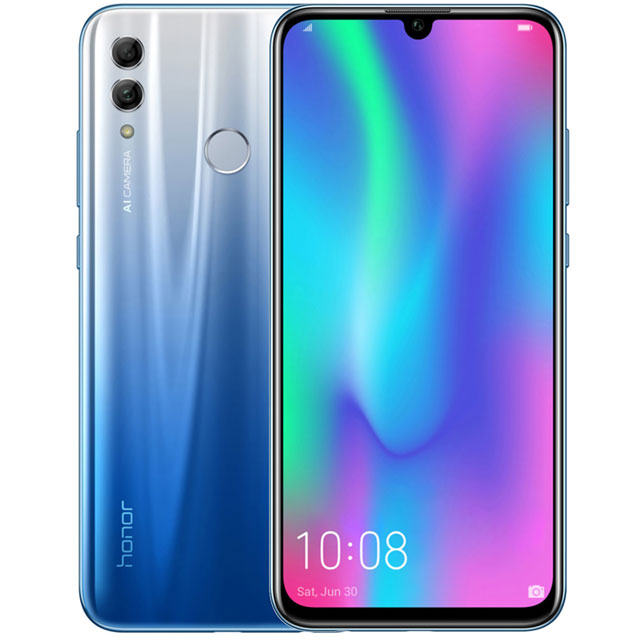 Honor 10 Lite 64GB Smartphone in Sky Blue - 51093FMQ - 1