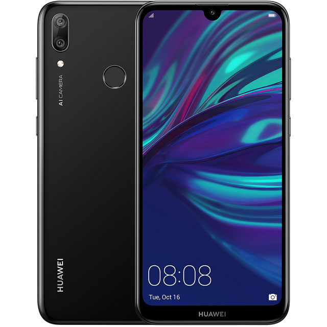 Y7 Prime 2019 Smartphone Midnight Black - 51093KSH - 1