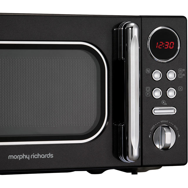 Morphy Richards Evoke 511502 20 Litre Microwave - Red - 511502_RD - 2