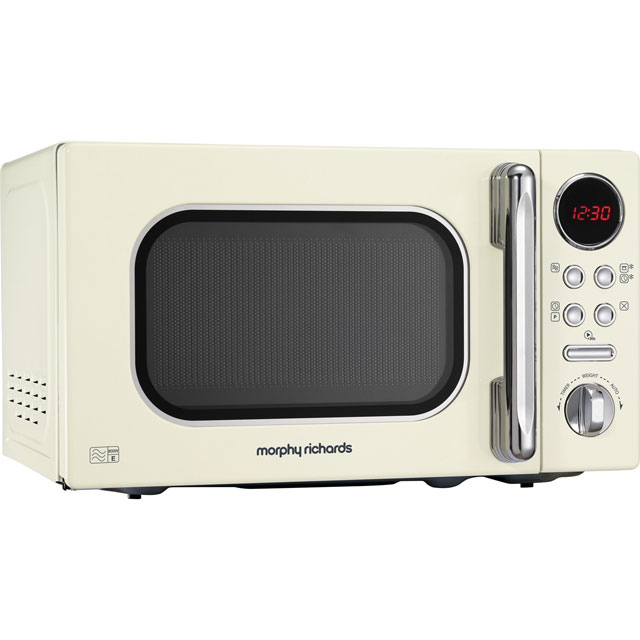 Morphy Richards Evoke 511501 20 Litre Microwave - Cream - 511501_CR - 1