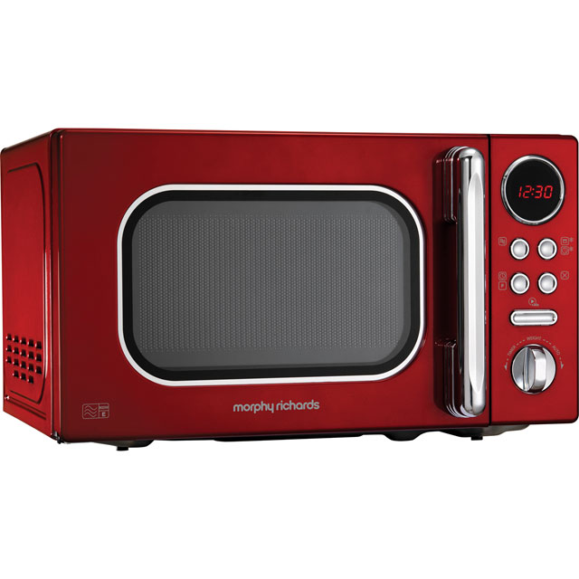 Morphy Richards Evoke 511502 20 Litre Microwave - Red - 511502_RD - 1
