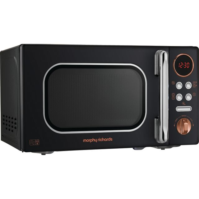 Morphy Richards Evoke 511503 20 Litre Microwave - Black / Rose Gold