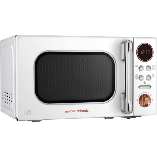 Morphy Richards Evoke 511504 20 Litre Microwave - White / Rose Gold