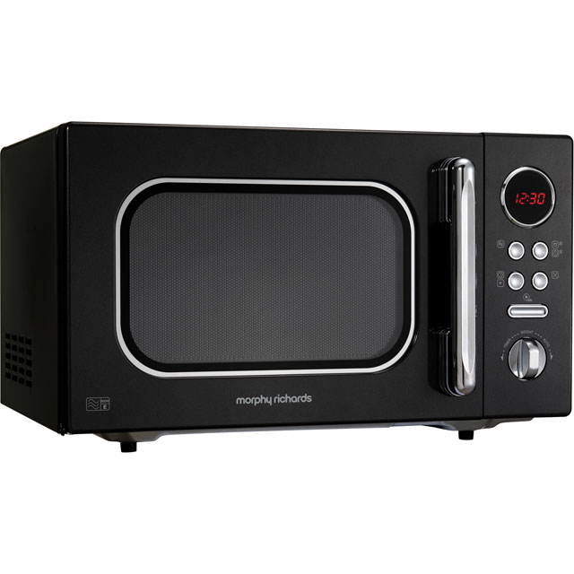 Morphy Richards Evoke 511510 23 Litre Microwave - Black - 511510_BK - 1