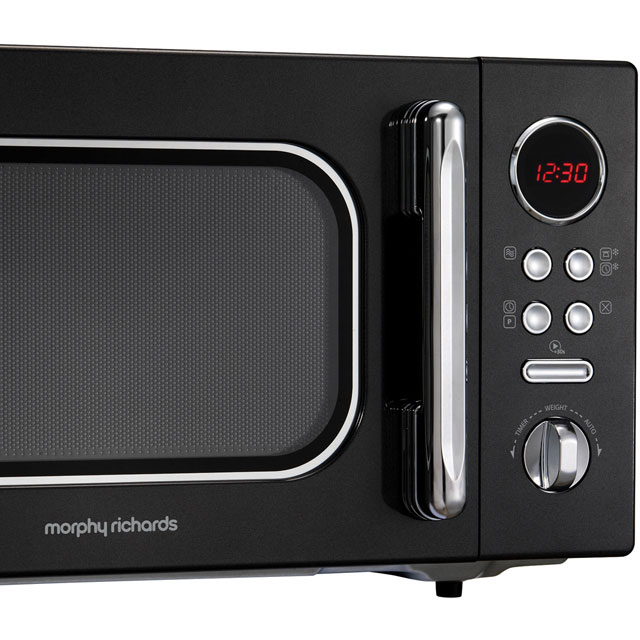 Morphy Richards Evoke 511510 23 Litre Microwave - Black - 511510_BK - 2