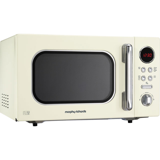 Morphy Richards Evoke 511511 23 Litre Microwave - Cream - 511511_CR - 1