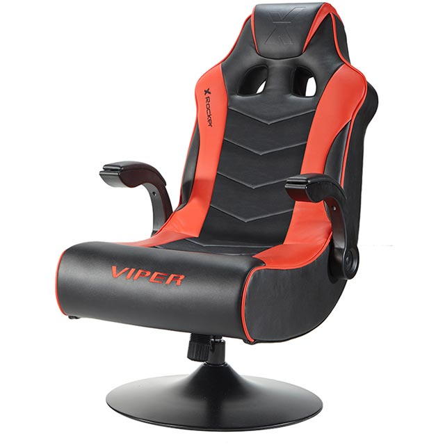 X Rocker Wireless Viper 2.1 Gaming Chair - Black