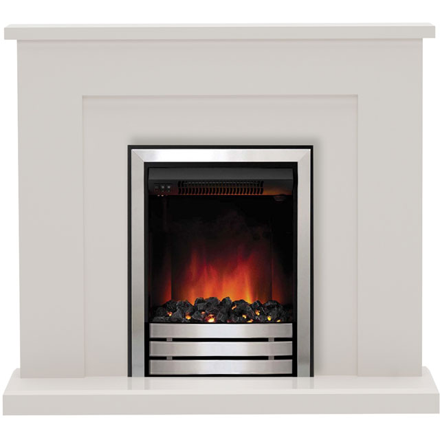 BeModern Marden 5487 Coal Bed Suite And Surround Fireplace - Cashmere - 5487_CSH - 1