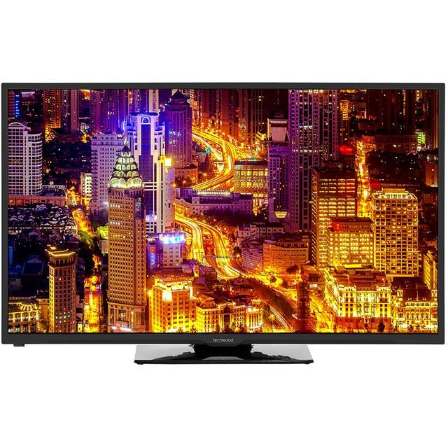 Techwood 55AO6USB Led Tv in Black
