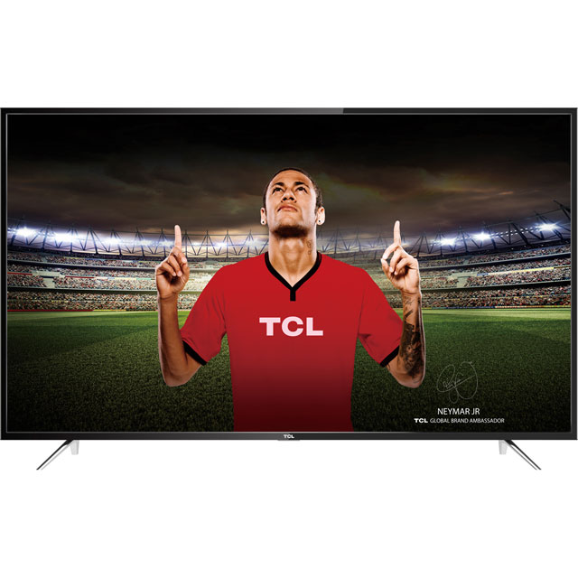 "TCL 55"" Smart 4K Ultra HD TV with HDR and Freeview Play - Black - [A+ Rated]"