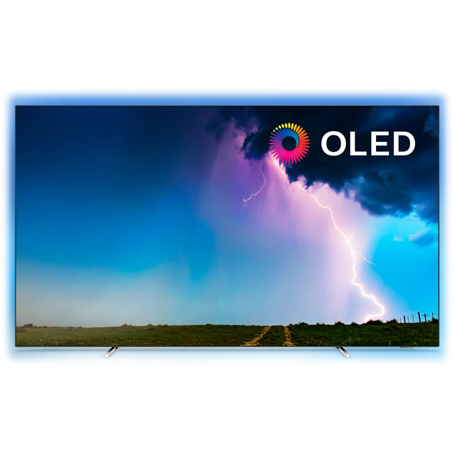 "Philips 55OLED754 55"" Smart Ambilight 4K Ultra HD OLED TV with HDR10+, Dolby Vision, Dolby Atmos and P5 Processor - 55OLED754 - 1"