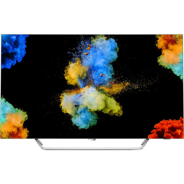 "Philips 55POS9002/05 55"" Smart Ambilight 4K Ultra HD TV with HDR and OLED - Chrome - [B Rated] - 55POS9002/05 - 1"