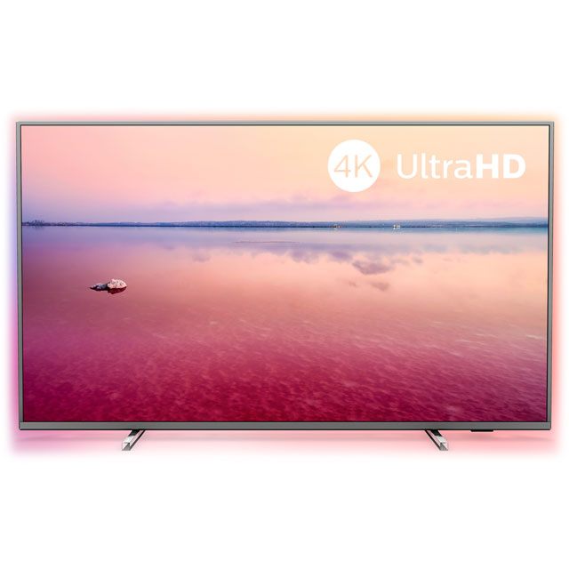 "Philips 55PUS6754 55"" Smart 4K Ultra HD TV - Silver - 55PUS6754 - 1"