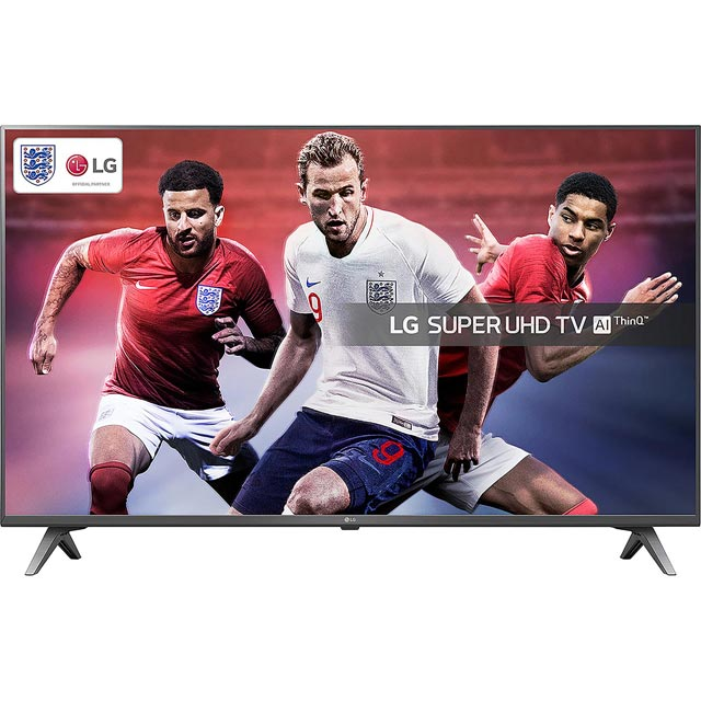 "LG 55SK8000PLB 55"" Smart 4K Ultra HD TV with HDR and Freeview Play - Titan Silver - [A+ Rated] - 55SK8000PLB - 1"