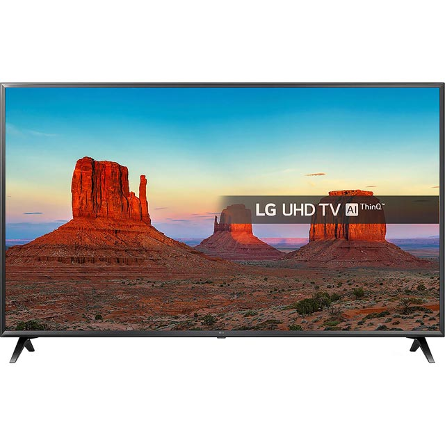 "LG 55"" Smart 4K Ultra HD TV with HDR and Freeview Play - Black - [A+ Rated]"