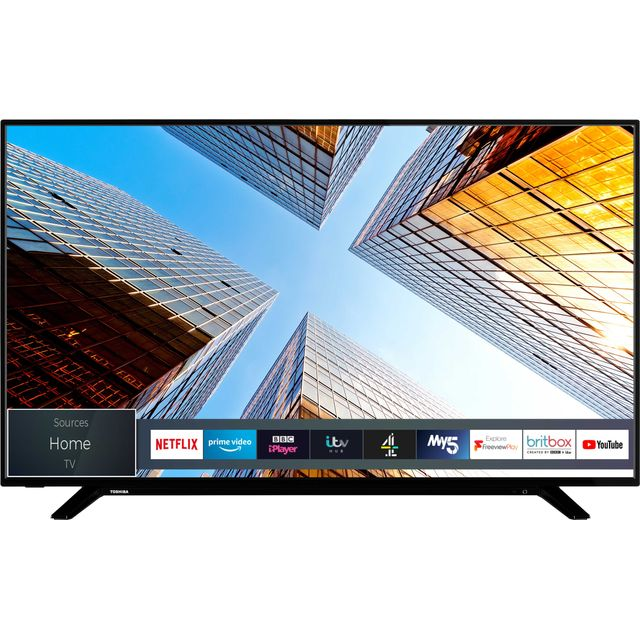 "Toshiba 55UL2063DB 55"" Smart 4K Ultra HD TV - Black - 55UL2063DB - 1"
